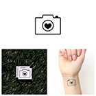 Tattify In Focus - Temporary Tattoo (Set of 2)