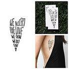 Tattify Perky - Temporary Tattoo (Set of 2)
