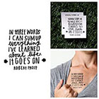 Tattify On and On - Temporary Tattoo (Set of 2)