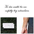 Tattify Neverland - Temporary Tattoo (Set of 2)