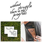 Tattify Progress - Temporary Tattoo (Set of 2)