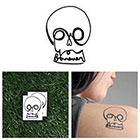 Tattify Skull Love - Temporary Tattoo (Set of 2)