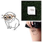 Tattify Puppy Love - Temporary Tattoo (Set of 2)
