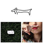 Tattify Haute Dog - Temporary Tattoo (Set of 2)