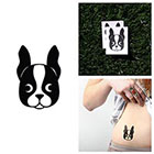 Tattify Frenchie - Temporary Tattoo (Set of 2)