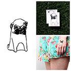 Tattify Hush Puppie - Temporary Tattoo (Set of 2)