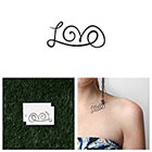 Tattify The L Word - Temporary Tattoo (Set of 2) in