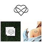 Tattify Intertwined - Temporary Tattoo (Set of 2)