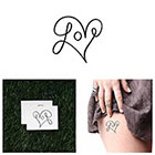 Tattify Loop De Loop - Temporary Tattoo (Set of 2)