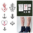 Tattify Sea Legs - Temporary Tattoo (Set of 14)