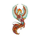 Tattoo You Phoenix Temporary Tattoo by Marie Massolin