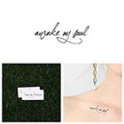 Tattify Wake - Temporary Tattoo (Set of 2)