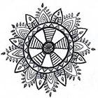 A Shine To It Boho Dreamcatcher Temporary Tattoo Hand Drawn Geometric Feather