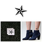 Tattify Naval Star - Temporary Tattoo (Set of 2)