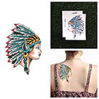 Tattify Headdress - Temporary Tattoo (Set of 2)
