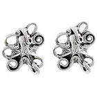 Target Sterling Silver Octopus Stud Earrings