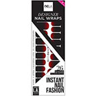 NCLA Nail Wraps in Lady Is A Vamp