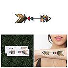 Tattify Gold Tipped - Temporary Tattoo (Set of 2)