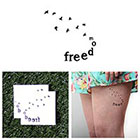 Tattify Full Swing - Temporary Tattoo (Set of 2)