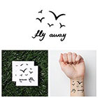 Tattify Vacation - Temporary Tattoo (Set of 2)
