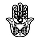 InknArt Fatima hamsa Hand Pattern Tattoo - InknArt Temporary Tattoo Set - pack tattoo quote wrist ankle body sticker anchor fake tattoo Copy