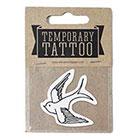 de Krantenkapper Swallow Temporary Tattoo