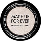 Make Up For Ever Artist Shadow Eyeshadow and powder blush in D124 Crystalline White (Diamond) eyesha