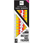 NCLA Nail Wraps in Tequila Sunrise