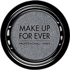 Make Up For Ever Artist Shadow Eyeshadow and powder blush in ME116 Silver (Metallic) eyeshadow