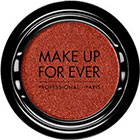 Make Up For Ever Artist Shadow Eyeshadow and powder blush in I736 Copper Red (Iridescent) powder blu