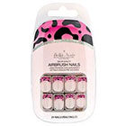 Bella Nails Bella Nails Bella Press-on Nails in Floral and Jewel in Pink Tip/Nude Base/Neon Leopard