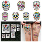 Tattify Los Muertos - Temporary Tattoo Pack (Set of 14) in
