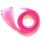 CandyAppleLocks Bubble Gum Pink Ombre Human Hair Extensions, Clip in Rainbow, Pastel, Dip Dye, Ombre Streaks