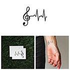 Tattify Lifeline - Temporary Tattoo (Set of 2)
