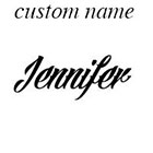 InknArt Custom Name temporary tattoo personalized gift - InknArt Temporary Tattoo - fake tattoo wedding tattoo