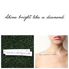 Tattify Nightlight - Temporary Tattoo (Set of 2) in