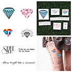 Tattify Crystallized - Temporary Tattoo (Set of 14) in