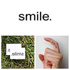 Tattify Quotes - Smile - Temporary Tattoo (Set of 2)