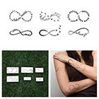 Tattify Infinity Moods - Temporary Tattoo (Set of 12)