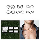Tattify Infinity Symbols Set - Temporary Tattoo (Set of 6)