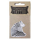 de Krantenkapper Bear Temporary Tattoo