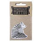 de Krantenkapper Bear Temporary Tattoo