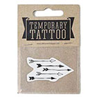 de Krantenkapper Arrows Temporary Tattoo