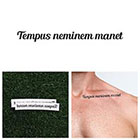 Tattify Tempus Neminem Manet - Temporary Tattoo (Set of 2)