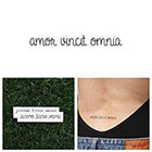 Tattify Amor Vincent Omnia - Temporary Tattoo (Set of 2)