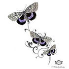 Wickedly Lovely Butterfly Butterfly Wickedly Lovely Skin Art Temporary Tattoo