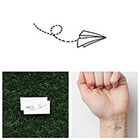 Tattify Fly Like Paper - Temporary Tattoo (Set of 4)