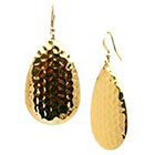 Target Fashion Drop Earrings - Gold