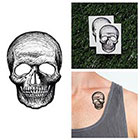 Tattify Skull Cap - Temporary Tattoo (Set of 2)