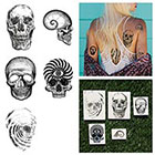 Tattify Gray Matter Temporary Tattoo Pack (Set of 10)